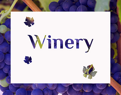 Winery. Landing & Online store