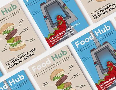 Food Hub Covers, Issue n°3 & n°4