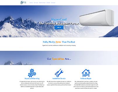 Hypercool Website Design
