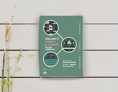 Ireland's Energy & Climate Plan Paper - Cover Design