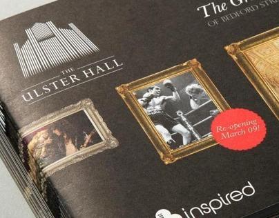 Ulster Hall Branding & Exhibition