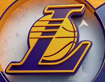 Lebron James - Lakers - 3D Motion Design