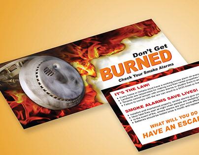 Don't Get Burned Campaign