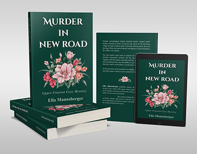 Murder in new road book cover