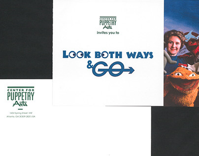 """Look Both Ways & Go"" Invitation"