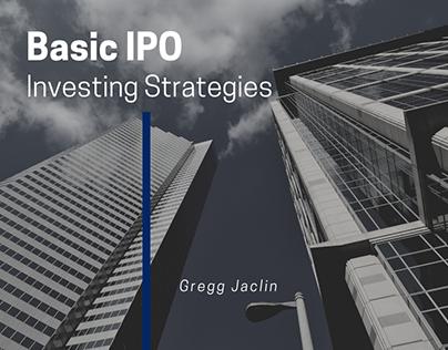Basic IPO Investing Strategies | Gregg Jaclin