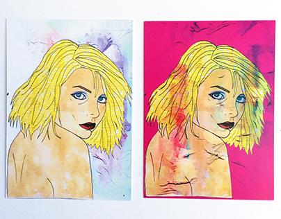 Blondie Post cards