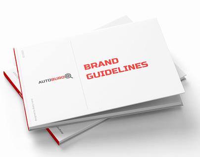 AUTOBURO online car parts store / Brand Book