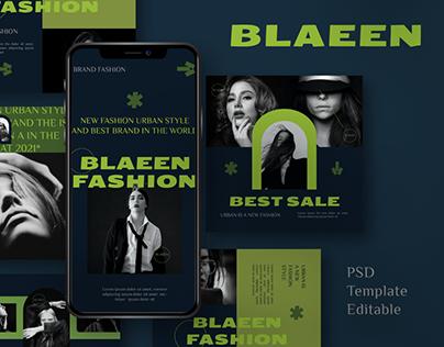 BLAEEN - Brand Instagram Template