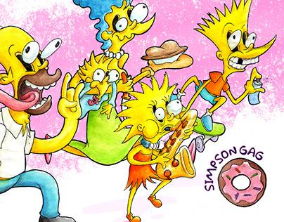Simpson Gag