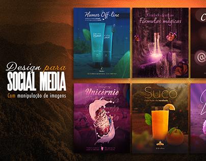 Design para Social Media com Manipulação de imagens