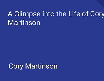 Cory Martinson's Love for Grand Cayman