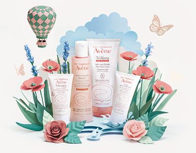 Avène - La primavera delle pelli sensibili - LatoC