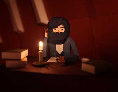 """""""Como Gepetto"""" - a short audiovisual story"""