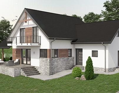 Family house in Kosmaj, Serbia