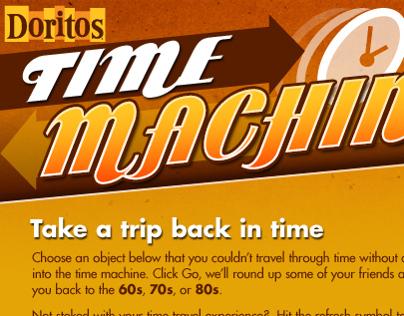 time machine doritos commercial