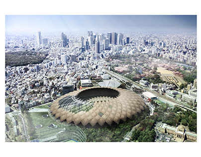 IASS New National Stadium Japan Design