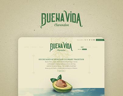 Buena Vida Clarendon Web Design
