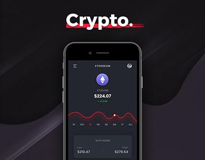 Crypto. Exchange App