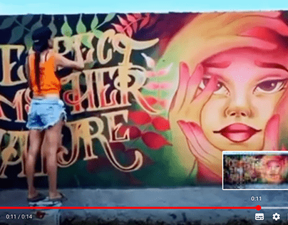 Fast illustration, graffiti, digital art