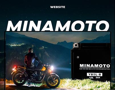Интернет-магазин мотоаккумуляторов Minamoto