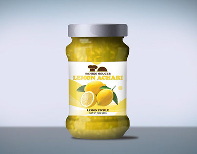 Label for Lemon Pickel