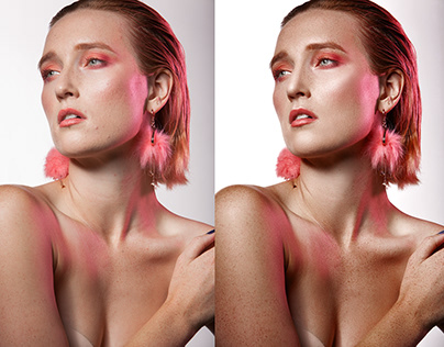 Beauty&Fashion Retouch. Before/After.