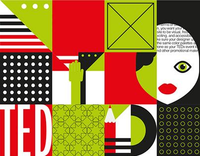 TEDX Izhevsk - Brand Identity