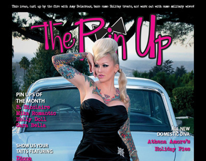 The Pin Up Magazine Holiday 2012 Cover