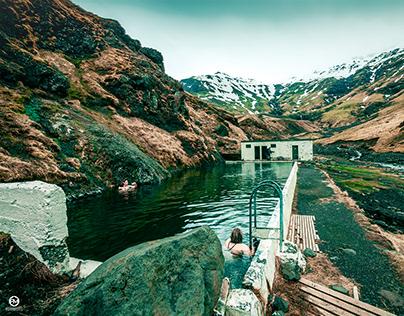 Seljavallalaug in Iceland