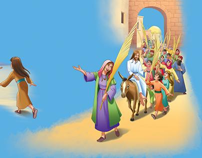 Holy Bible Illustration