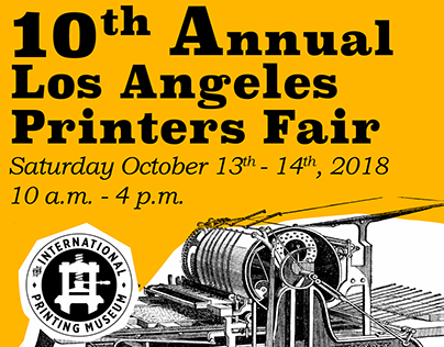 10th Annual Los Angeles Printers Fair Ad