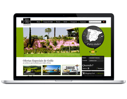 Website Tee Times Tour Operator
