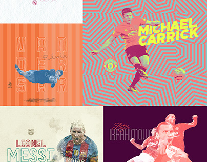 100 Day Project - Day 81–100 Footballers X Graphic