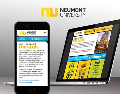 Neumont University RFI Website