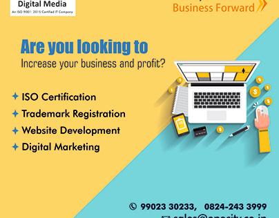 Website Design, App Development, Digital Marketing,
