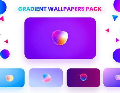 Minimal Gradient Wallpapers Pack Freebie