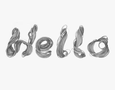 Hair Typography