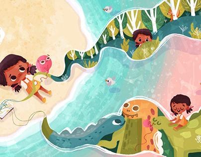 Children's Book Illustration | BOB