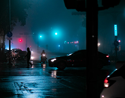 Foggy Night | Photography