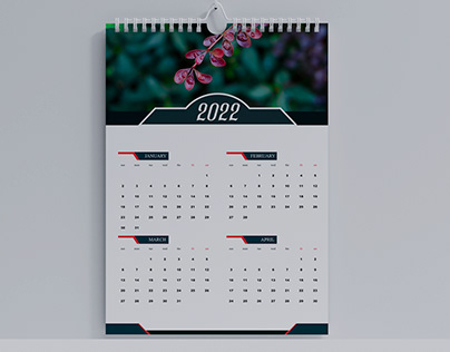 2022 Calendar Design