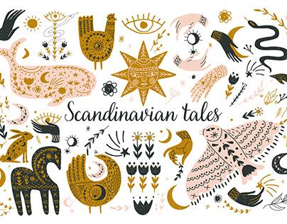 Scandinavian Nordic Folk Art