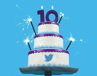 Twitter 10 Year Anniversary