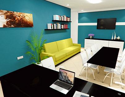 Sea & forest Vs Rock & Desert Palette - Interior Design