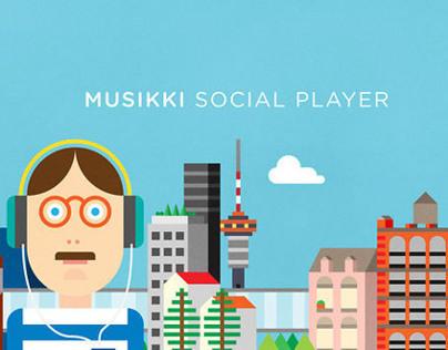 Musikki Social Player