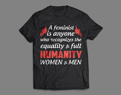 International Women's Day T-Shirt Design