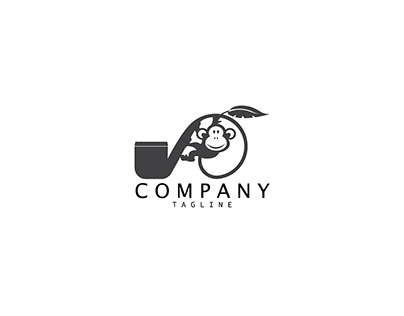 pipe and monkey logo