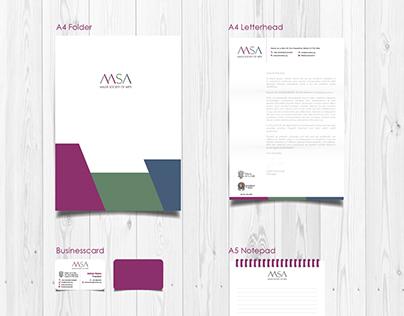 MSA Corporate Identity - Rebranding