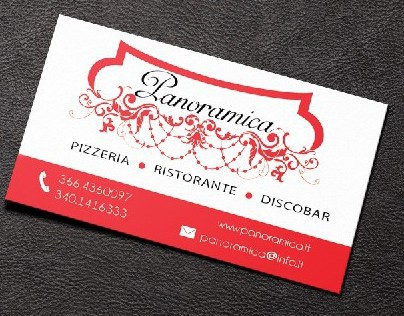 Ristorante Panoramica Logo and Idenity