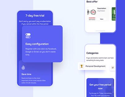 Reading App | Responsive Design